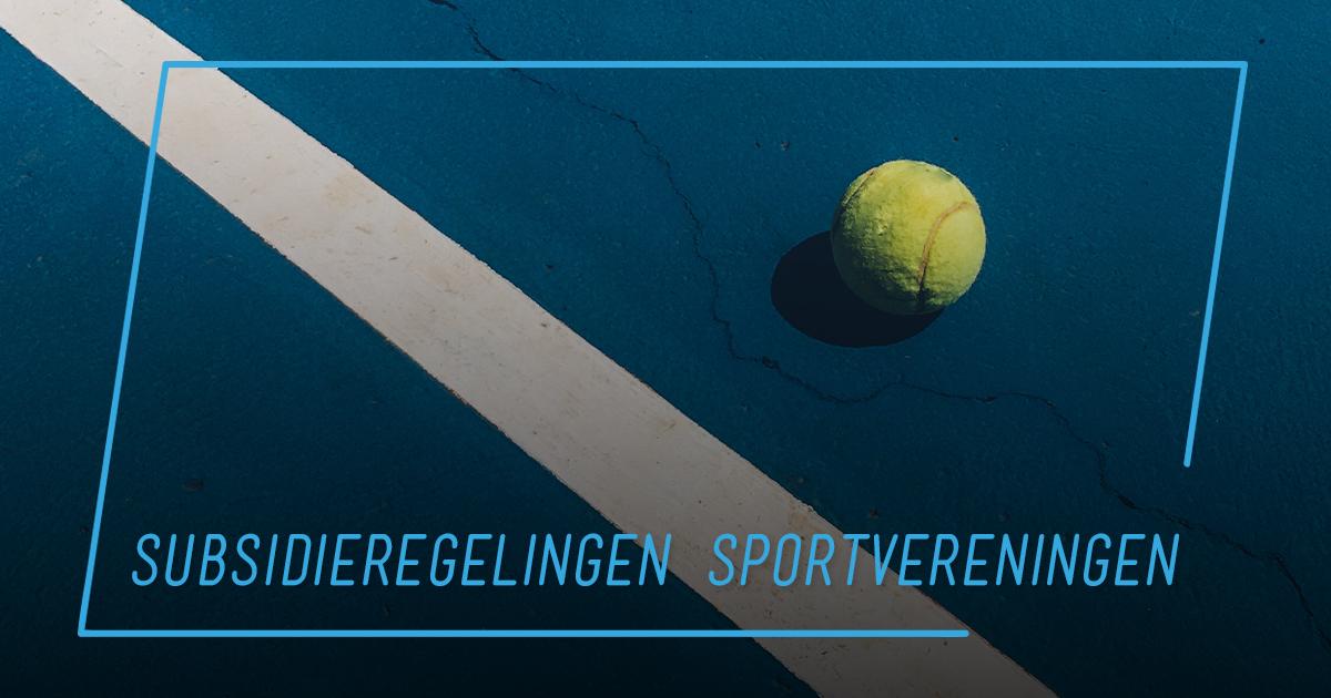 subsidieregelingen-sportvereningingen